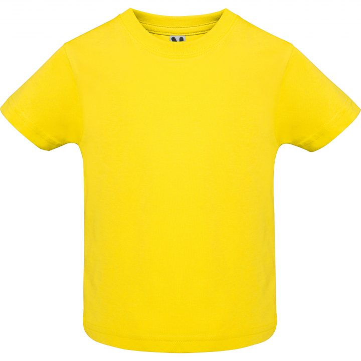 Camiseta baby amarillo