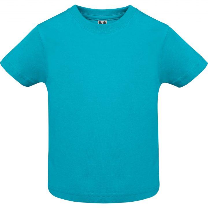 Camiseta baby Turquesa
