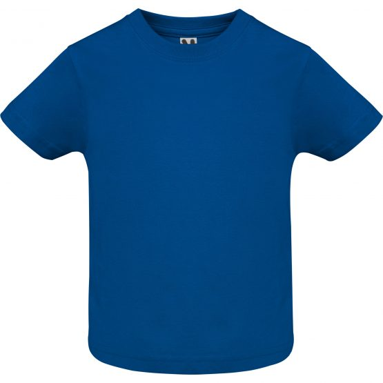 Camiseta baby azul