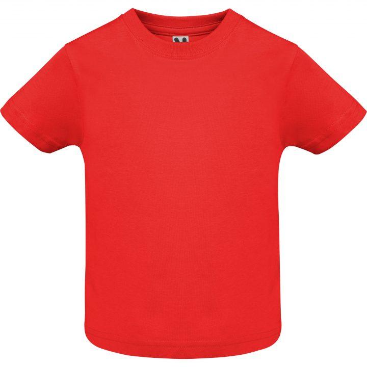 Camiseta baby rojo