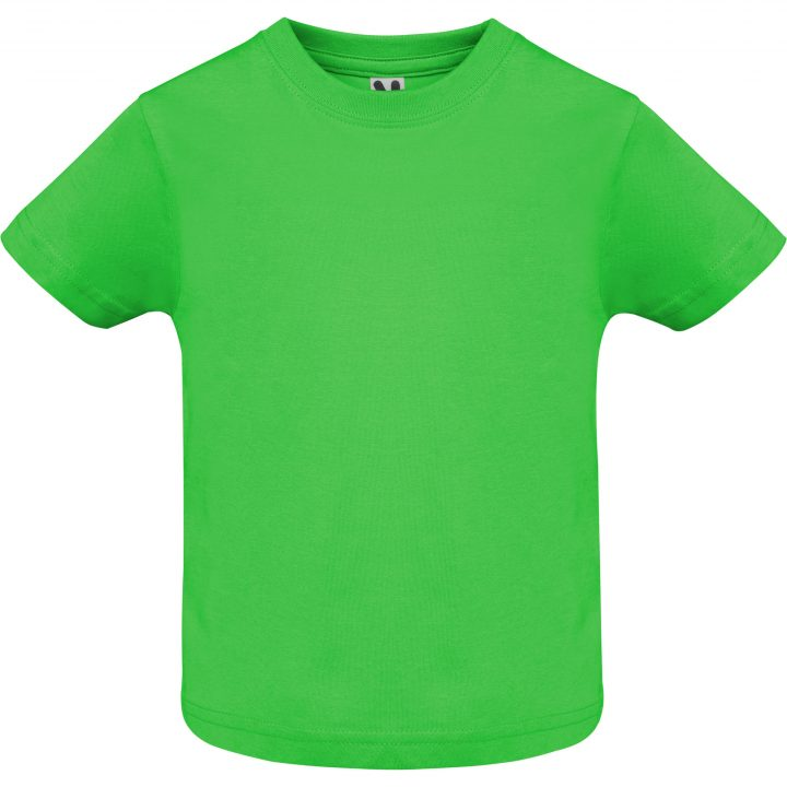 Camiseta baby verde oasis