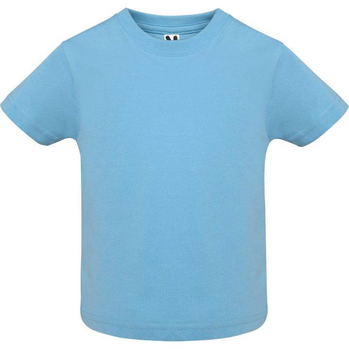 Camiseta baby celeste