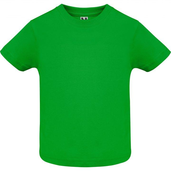 Camiseta baby verde